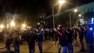 San Nicola, scontri tra abusivi e Polizia a Bari
