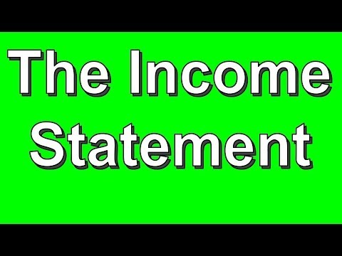 How to Prepare the Income Statement (Part 2 of 5)