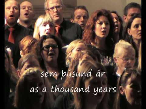 Icelandic National Anthem - Lofsöngur - subtitled and translated