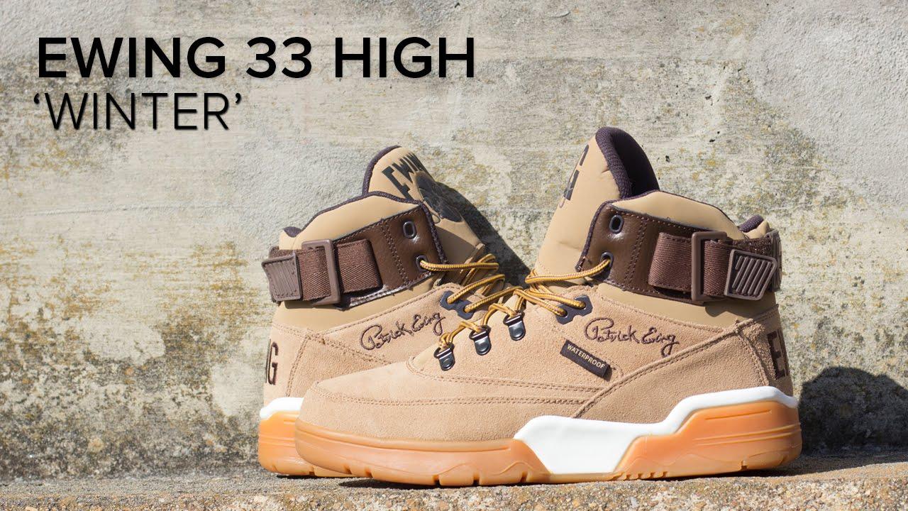 Ewing 33 High 'Winter' Quick On Feet
