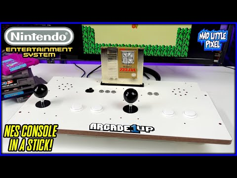 NES Built Into A 2 Player Arcade Stick! Arcade 1UP Mod Or Standalone HDMI Console! from Madlittlepixel