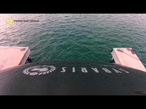 Perini Navi : 70m S/Y Sybaris : Launch & Mast Step