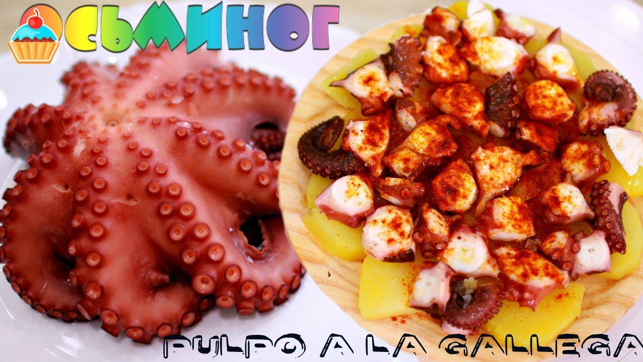 как приготовить мясо осьминога