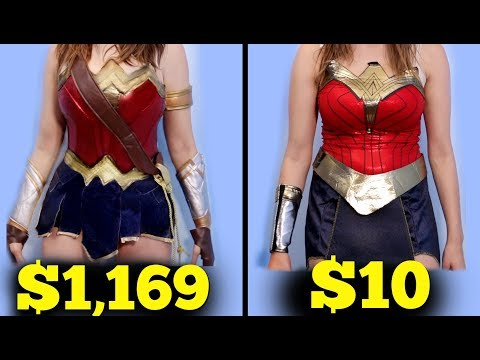 $10 Halloween Costume Vs. $1000 Halloween Costume!