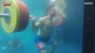 Ultimative Russian UNDER WATER Weightlifting - Thai Holidays 2 with Dmitry Klokov