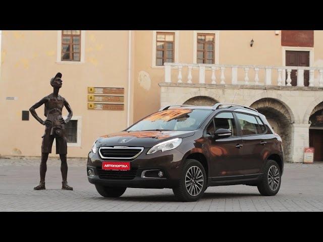 Тест Peugeot 2008 1.2 с роботом от АвтоПортал