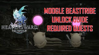 How to Unlock Moogle Beast Tribe Daily Quests- All Required Quests from start to FInish!