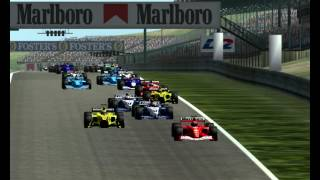 Start 2001 Hungaroring Hungary Hungarian Grand Prix full Race Formula 1 Season Mod F1 Challenge 99 02 game year F1C 2 GP 4 3 World Championship 2013 2014 2015 201626 17 06 3