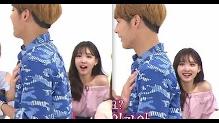 Download Video NAYEON (임나연) & MINHYUK (이민혁 ) - TWICE & BTOB INTERACTION 1 || fightingkathy MP3 3GP MP4