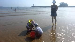 태안바다 어은돌해수욕장 썰물때