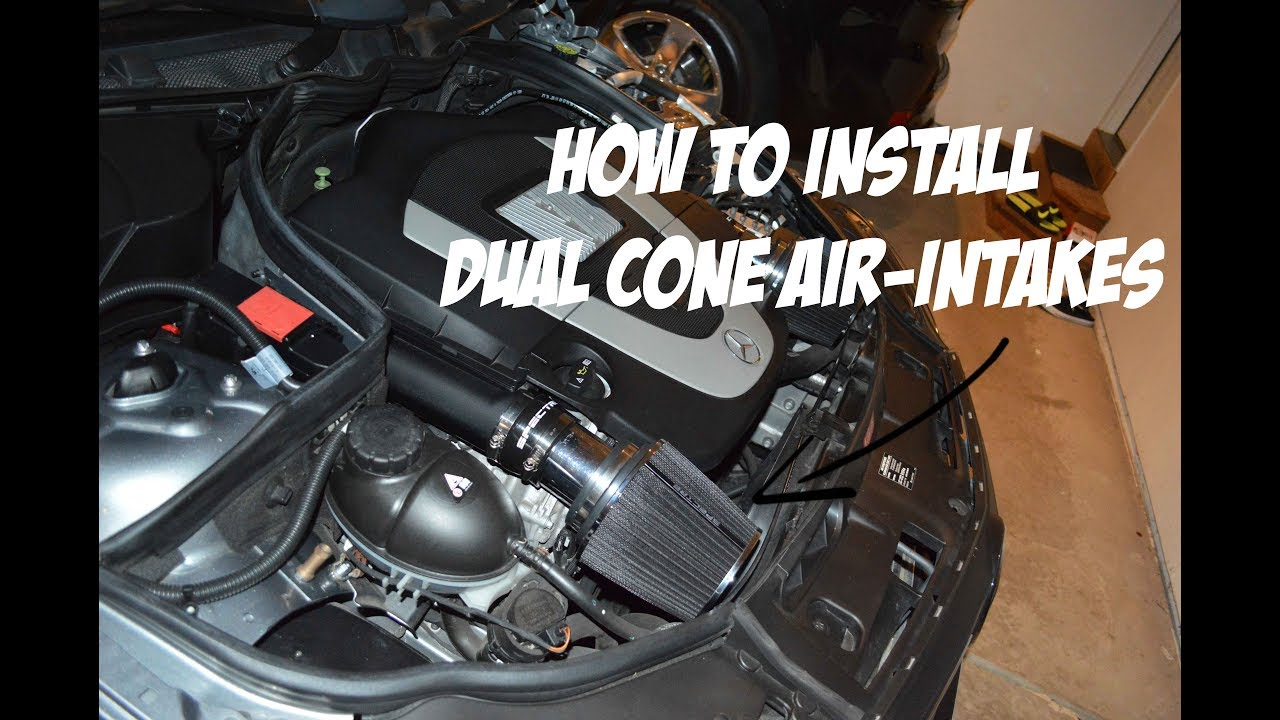 HOW TO INSTALL COLD AIR INTAKE! (Vlog 4)