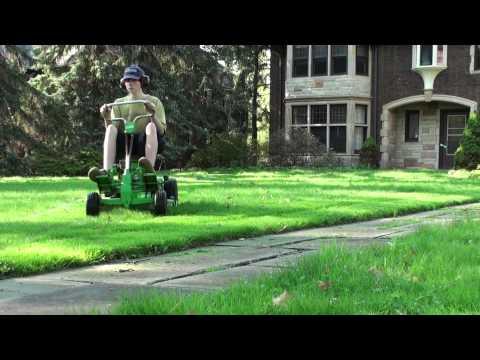 Lawn Boy Rear Engine Riding Mower