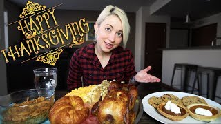 THE ULTIMATE THANKSGIVING FEAST MUKBANG