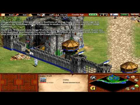 Age Of Empires 2 - William Wallace - Mission 7 - Battle Of FalKirk