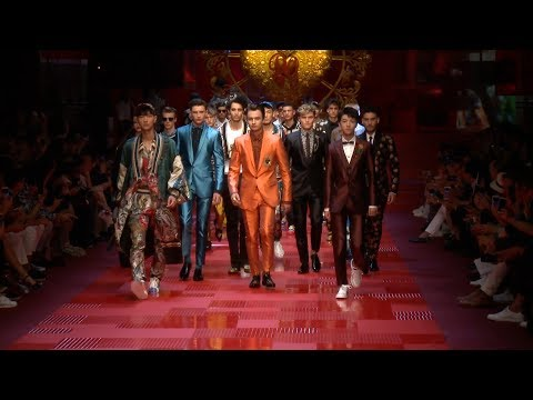 Dolce & Gabbana - Collection Homme Printemps / Eté 2018