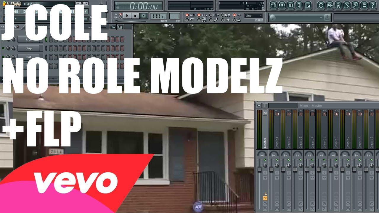 J Cole No Role Modelz Fl Studio Remake Tutorial Flp Youtube