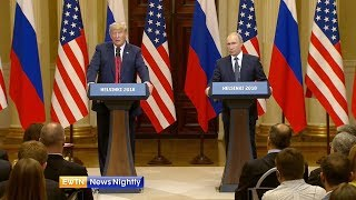 President Trump Faces Criticism Following Meeting with Russian President - ENN 2018-07-16