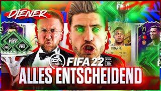 Wer hier VERLIERT ist in FIFA 22 am ARSCH .. ☠️😱 Das LETZTE Blind DRAFT Entscheidet über ALLES !!