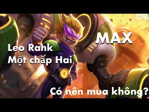 Liên Quân Max hiệp sĩ nhí   Cân nguyên team, Leo RANK tốt không?