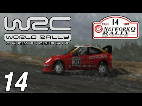 Let's Play World Rally Championship - Part 14 - The Network Q Rally of Great Britain