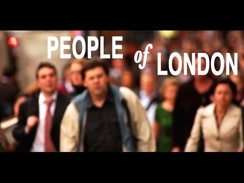 Crowd of People Walking in London 4K UHD Stock Video Footage