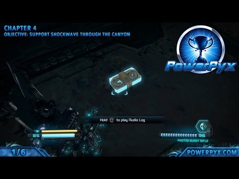 Transformers Rise Of The Dark Spark - All Veteran Audio Log Locations (Spoils Of War)