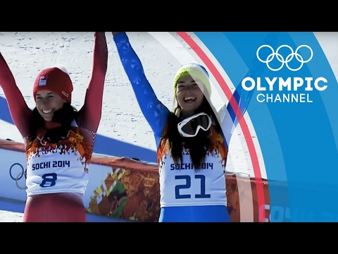 Shared Skiing Gold in Sochi 2014 Between Tina Maze and Dominique Gisin | Olympics on the Record
