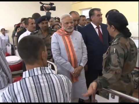 PM Modi visits India-Tajikistan Friendship Hospital
