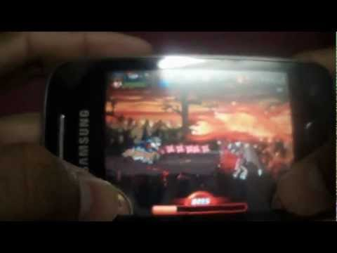 DEVIL NINJA 2 ON ANDROID (DEMO ON GALAXY Y )