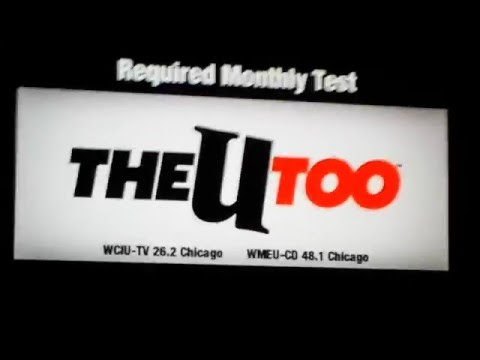 The u too required monthly test of the emergency alert system 5/3/2016