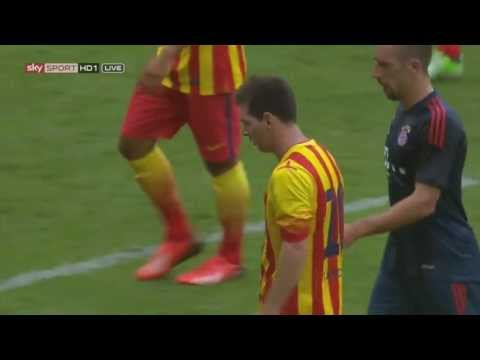 Lionel Messi vs Bayern Munich (A) [German Commentary] 13-14 HD 720p By Nikos248