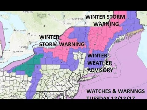 WINTER STORM WARNING HEAVY SNOW ACROSS NEW ENGLAND NE NY STATE. VERY COLD AIR MOVING SOUTH