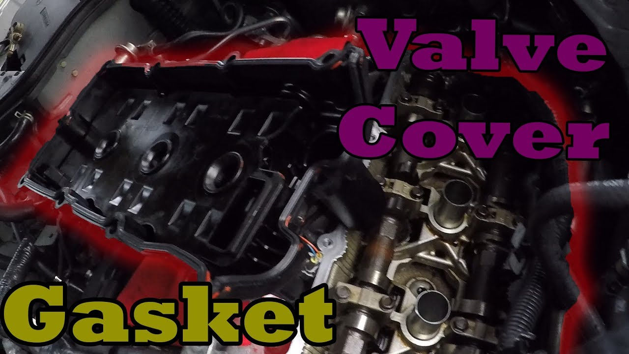 g35 350z valve cover gasket replacement [ 1280 x 720 Pixel ]