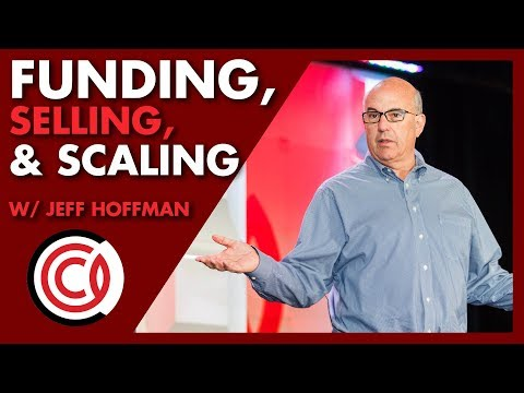 Jeff Hoffman Q&A: Raising Funding, Scaling, and Selling Companies