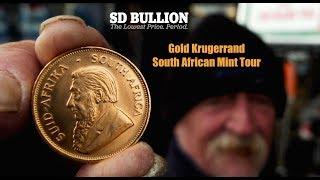 South African Gold Krugerrand Coin Tour   SDBullion.com
