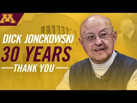 Dick Jonckowski: 30 Years of Service Tribute Video