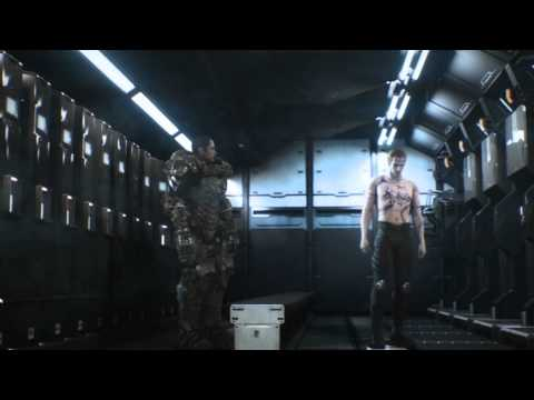 Starship Troopers Invasion: Mission Prep Scene