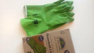 iHerb: If You Care, Household Gloves (Резиновые перчатки) - Видео Обзор