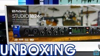 PreSonus Studio 1824c - UNBOXING