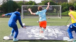 SLIP N SLIDE FOOTBALL CHALLENGE