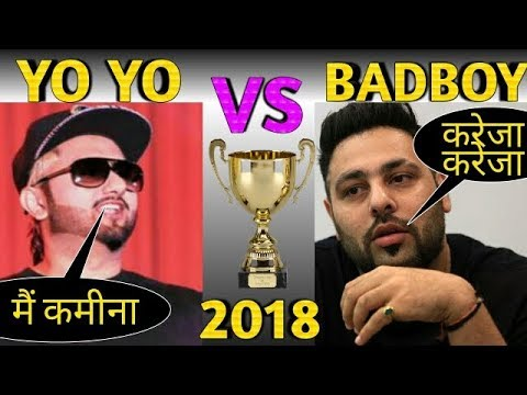 YO YO HONEY SINGH VS BADSHAH 2018 || honey singh new song | badshah new song | video by mafia viral