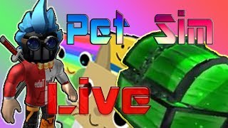 (Roblox) PetSim! Raum/Candy Pet! M00N C0in Grind!!! Avatar-Item-Giveaway// (RoadTo600)