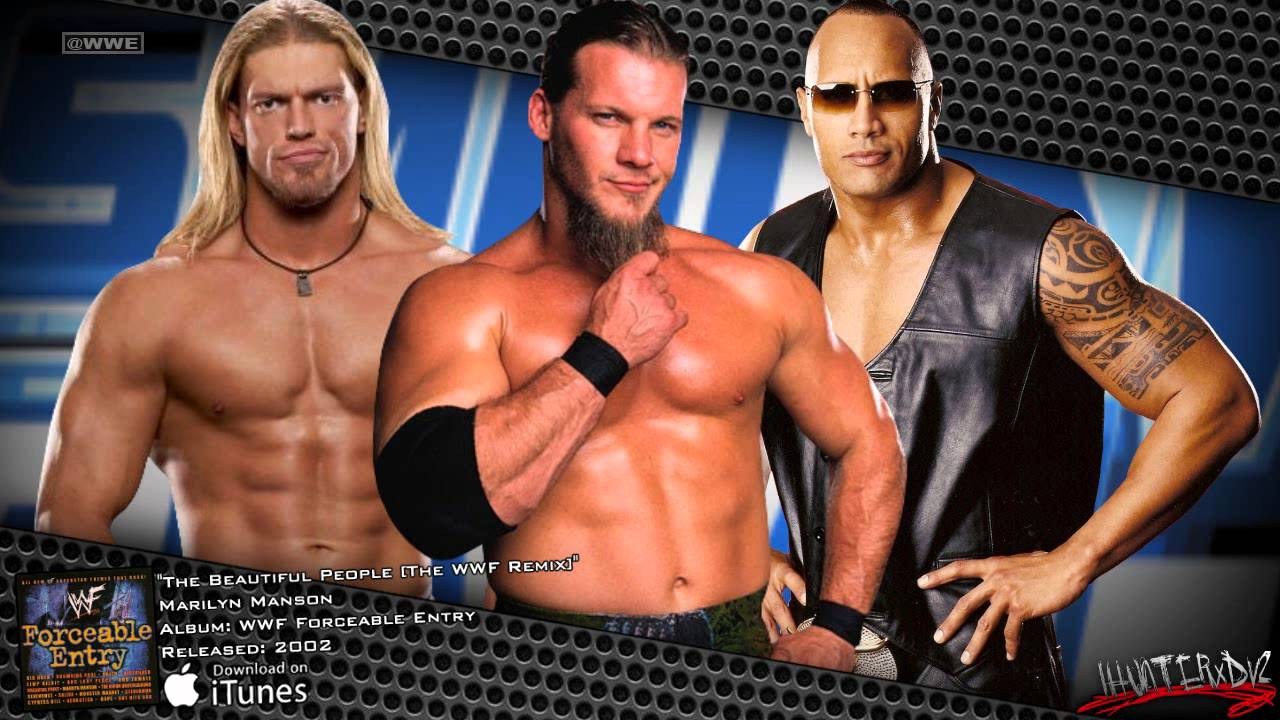 """Wwe smackdown 2002-2003 theme """"the beautiful people"""" by marilyn."""