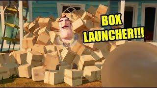 HELLO NEIGHBOR BOX LAUNCHER!!!