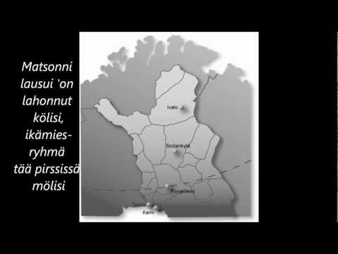 Juha Vainio - Matkalla pohjoiseen (lyrics)
