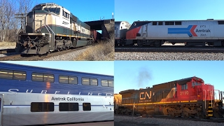 Awesome Railfanning in and around Galesburg! - 2/18/2017