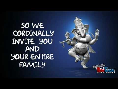 Ganesh Invitation