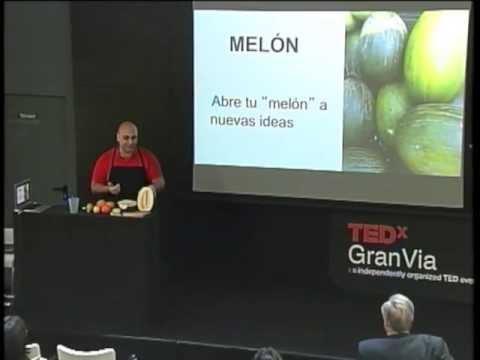 Lo que la fruta me enseñó del management: José Ángel García López at TEDxGranVia