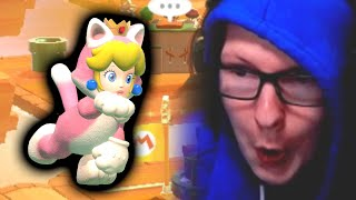 What is the PERFECT Super Mario 3D World Speedrun? Challenge Runner Reacts to SM3DW Any% BTT...