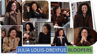 Julia Louis Dreyfus Can't Stop Laughing 😂 | Bloopers Seinfeld